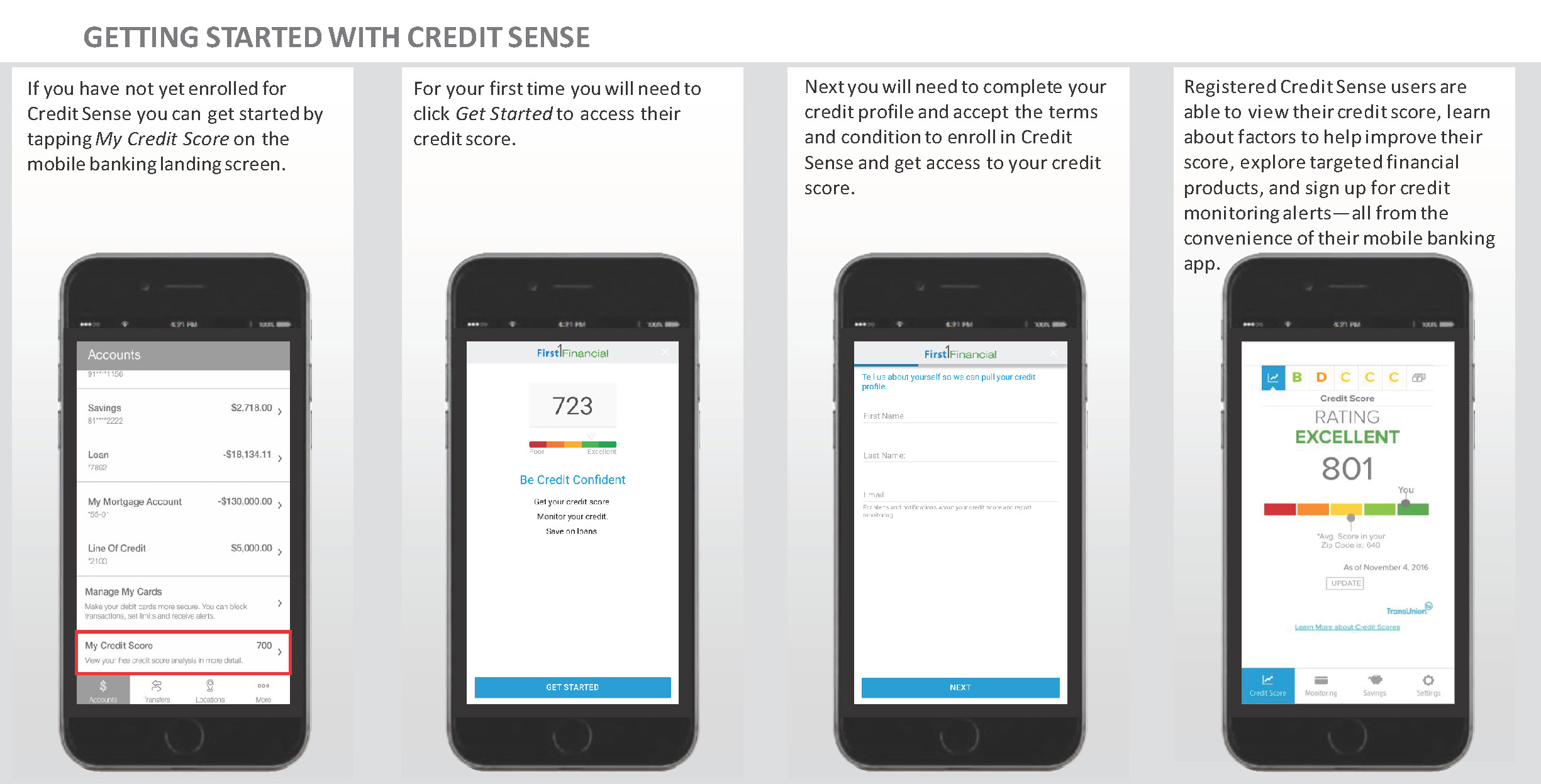 Credit Sense-Getting Started Guide
